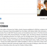 Photo image of flyer for Visiting Writer Series: Taije Silverman