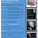 Photo image of event schedule for Toni Morrison Day on Feb 18, 2020 at Monmouth University