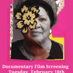 "Photo image promoting film screening of documentary film ""Toni Morrison: The Pieces I Am"