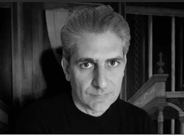 Photo of Visiting Writer Michael Imperioli. Click for larger display image.