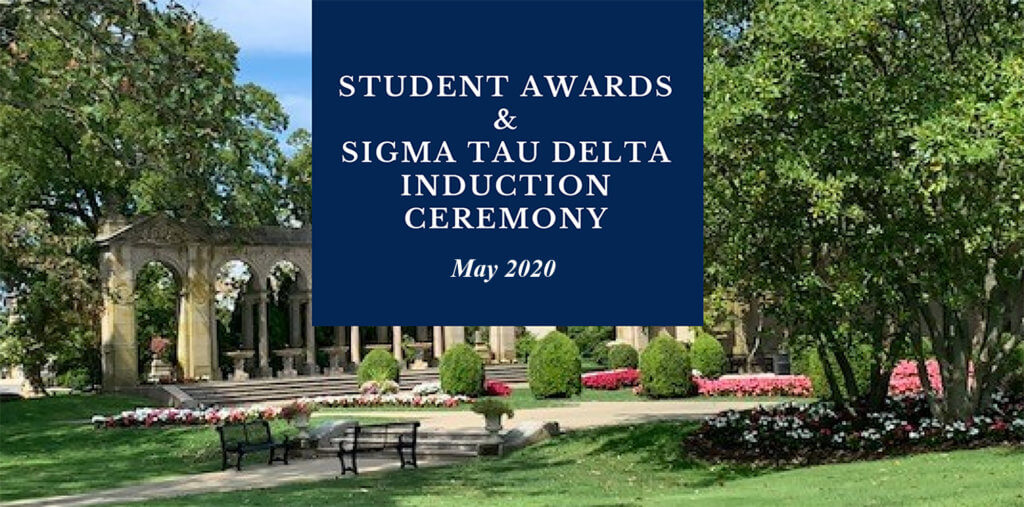 Student Awards and Sigma Tau Induction Ceremony - May 2020