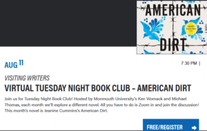 Photo for Virtual Tuesday Night Book Club for American Dirt - click for detailed view