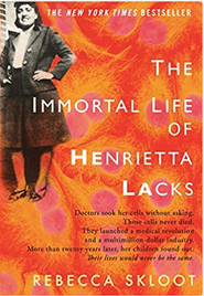 Photo image of book cover for Rebecca Skloot's The Immortal Life of Henrietta Lacks: Click for larger view