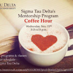 Photo image of event flyer for Mentorship Program Coffee Hour