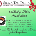 Photo image of event flyer for Catsbury Park Fundraiser