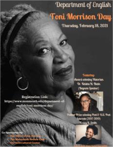 Image of Toni Morrison Day program cover