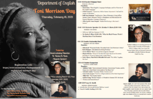 Photo image of Toni Morrison Day program brochure - click or tap for detailed view