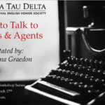 """Life After Monmouth Workshop Series: """"How to Talk to Editors & Agents"""", March 11 -- Cancelled due to University closure."""