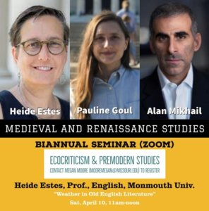 Biannual Seminar - Medieval and Renaissance Studies - Click for more information