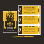 Photo image of event flyer for Buffalo Wild WIngs Fundraiser