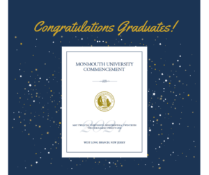 Image of congratulatory message to graduates - click or tap for detailed view