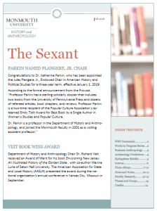 Click on image to read Fall 2018 issue of The Sextant