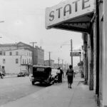 Photo of Springwood Avenue in Asbury Park 1940; Courtesy of Asbury Park-USA TODAY News Network
