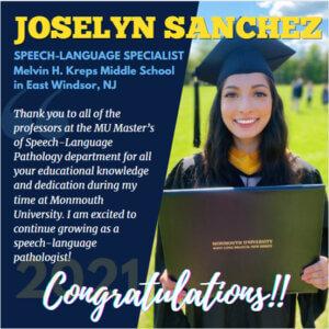 Photo of SLP Alumna Joselyn Sanchez