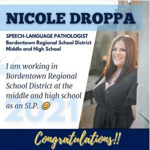 Photo of SLP Alumna Nicole Droppa