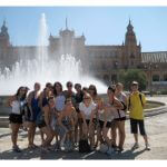 Click to View Foreign Language Studies Photo of Happy Group in Europe!