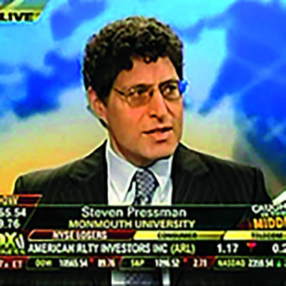 Photo of Steven Pressman, Ph.D.