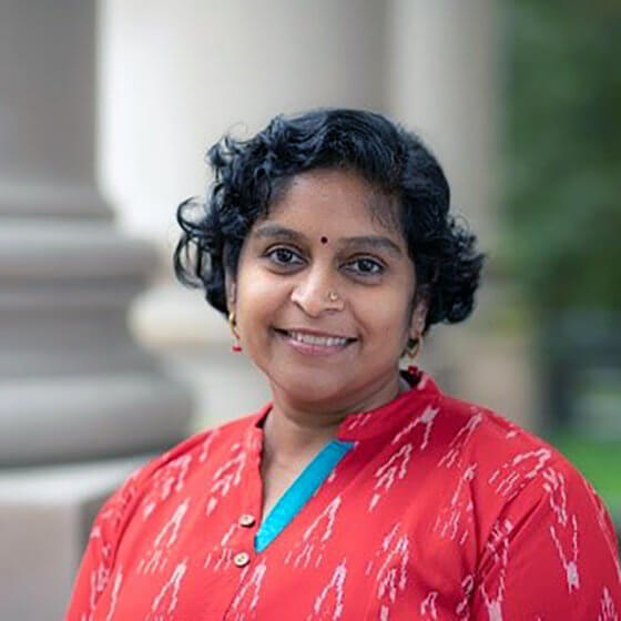 Photo of Sanjana Ragudaran Fall 2020