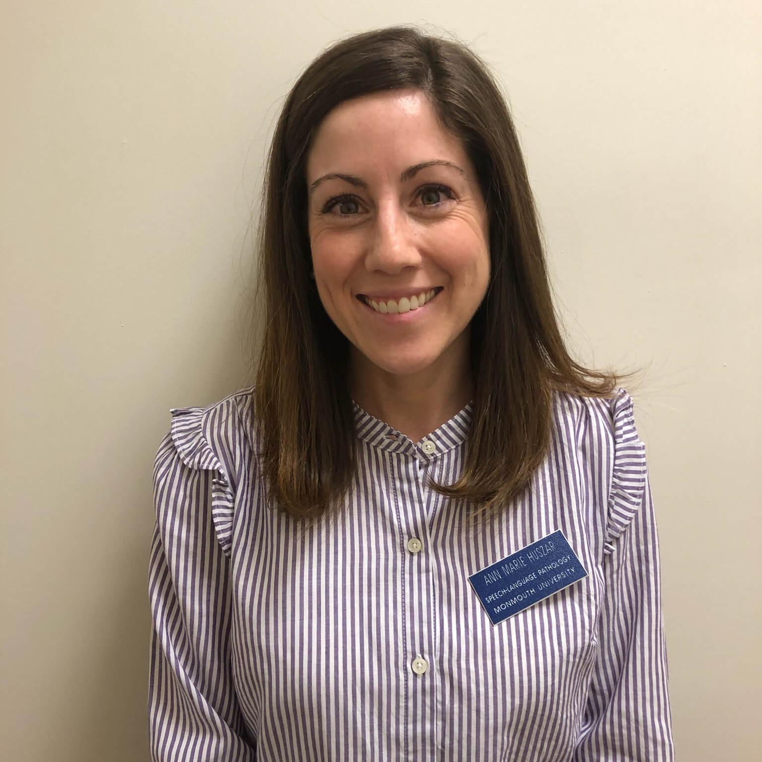 Photo of Ann Marie Huszar, SLP Clinic Supervisor