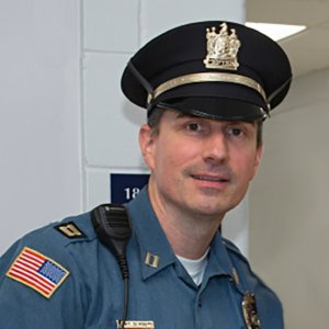 Photo of MU Police Captain Dean Volpe