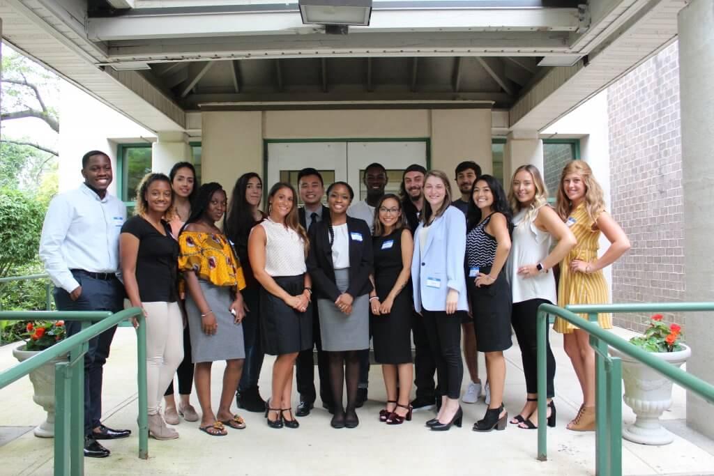 Group photo of EOF Alumni Networking Panel
