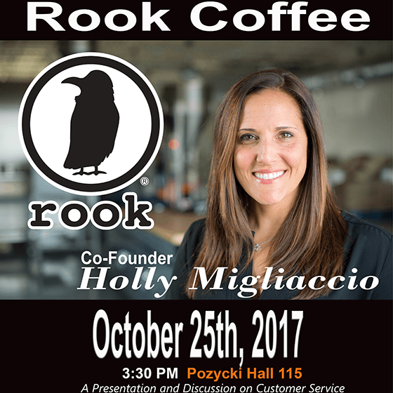 Photo of Rook Coffee Co-Founder Holly Migliaccio