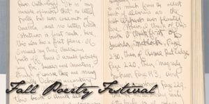 2013 Fall Poetry Festival with keynote presenters Kim Addonizio and Ron Mitchell
