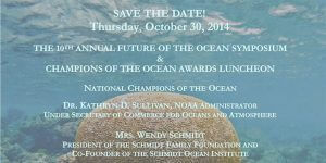 2014 Future of the Ocean Symposium