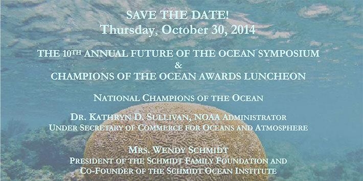 2014 Future of the Ocean Symposium