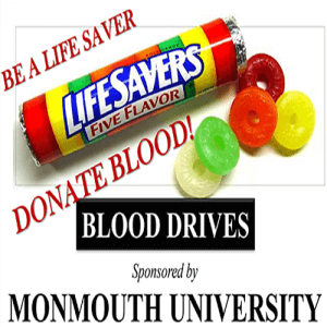 Blood Drives at Monmouth University