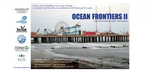 Photo from Ocean Frontiers II as invitation to attend film screening & panel discussion
