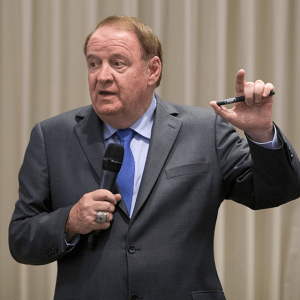 Former NJ Governor Richard J. Codey Speaks at Current Topics in Counseling Conference