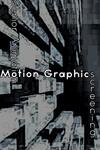 Senior Animation and Motion Graphics Screening