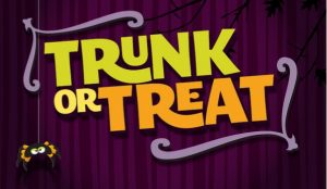 Advertisement for Trunk-or-Treat 2017