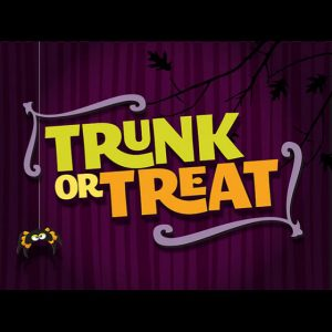 Advertisement for Trunk-or-Treat 2015
