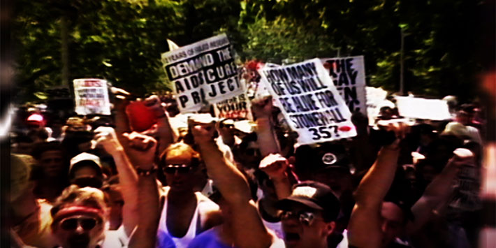 On Screen/In Person: United in Anger: A History of ACT UP
