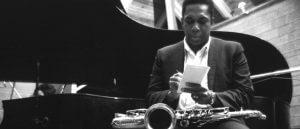 A photo of John Coltrane