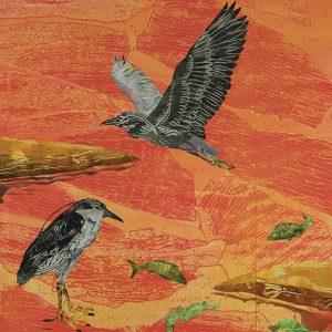 SUSAN AMONS: WILD SIDE Maine Monoprints