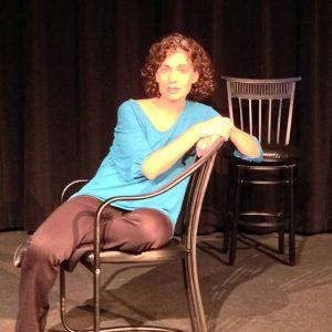 Photo of performance artist Heidi Rose