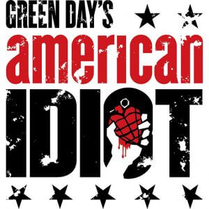 Promo art for Green Day's American Idiot