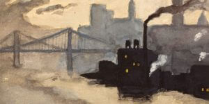 Gallery Exhibition – Lewis Mumford: Selections from the Monmouth University Permanent Collection
