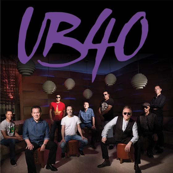 UB40 – Postponed