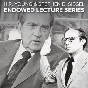 H.R. Young and Stephen B. Siegel Endowed Lecture Series: John Dean and James Robenalt