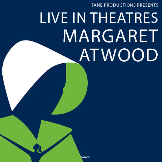 MARGARET ATWOOD – Live in theatres