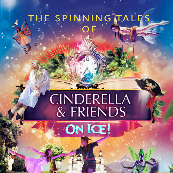 The Spinning Tales of Cinderella & Peter Pan on Ice