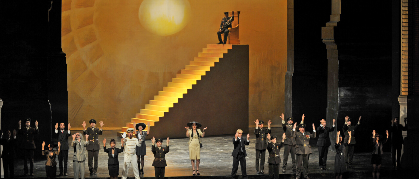 Photo of Metropolitan Opera production of Agrippina