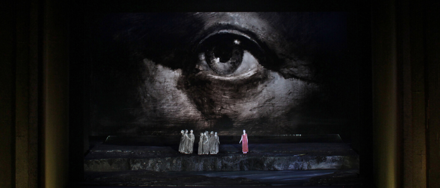 Photographic image for Metropolitan Opera's production of DER FLIEGENDE HOLLÄNDER