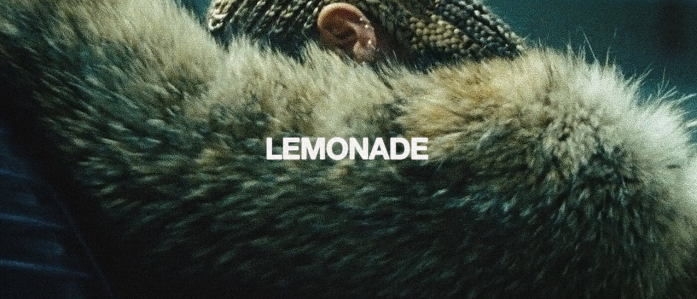 Photo of album cover of Beyonce's Lemonade