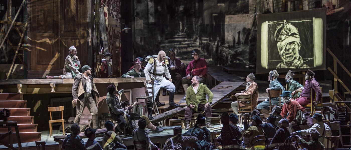 The Metropolitan Opera; Wozzeck - West Long Branch