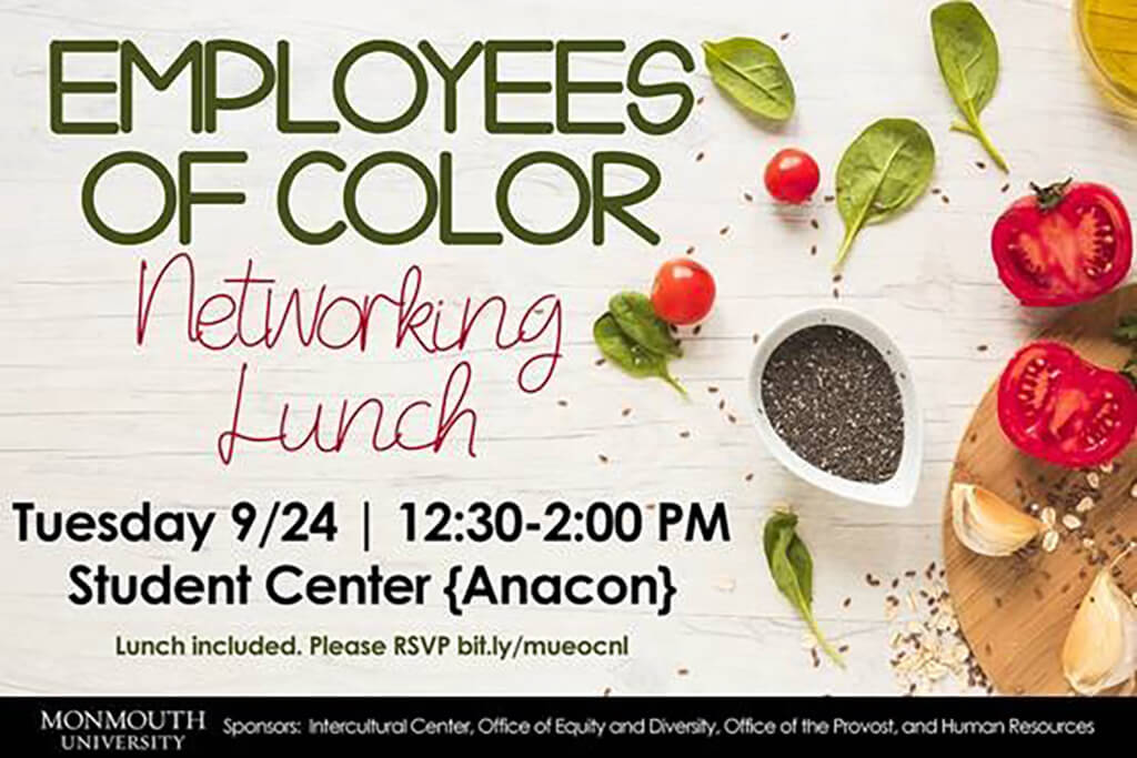 Click on Image to Register for Employee of Color Networking Lunch